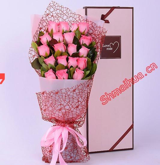 香吻 礼盒鲜花